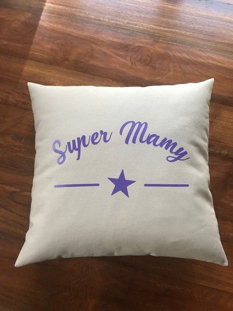 Coussin Super Mamy